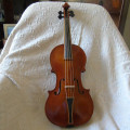 Baroque violin by George Stoppani, NRI no5 1982 Manchester England
