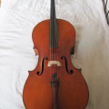 French Mirecourt Cello by Laberte et Magnié (1929)