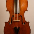 Fine French violin by Paul Bailly, student of J.B. Vuillaume ca. 1890