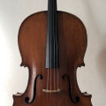 Georg Adam Krausch Cello, Vienna 1815