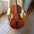 Neuner & Hornsteiner Cello c.1880, with case and bow - £7000