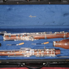 Marigaux oboe 27958 and Rigoutat violet wood cor anglais  439BC, pic 1