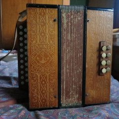 Hohner C/F melodeon, pressed wood, pic 1