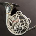 Rare Vintage Elkhart Conn 8D in Nickel Silver