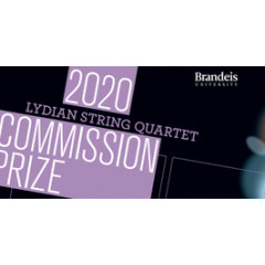 Lydian String Quartet Commission Prize 2020