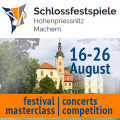 Festival Schlossfestspiele: masterclass | concerts | competition