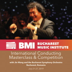 Jin Wang Orchestra Conducting Masterclass with Bucharest Symphony
