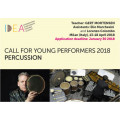Call for Young Performers 2018, PERCUSSIONS