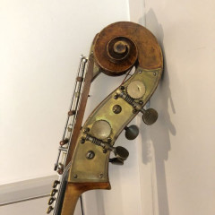 Saxon double bass c.1880, pic 3