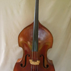 Double Bass made in Germany in the 60's evaluated by a professional Geigenbaumeister in Germany., pic 1
