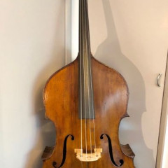 Saxon double bass c.1880, pic 1
