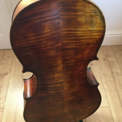 Excellent Renzo Passolini cello bought from Andrew Hooker., pic 2