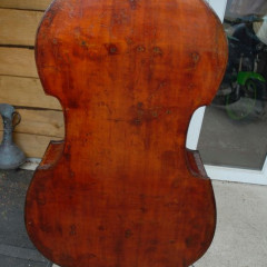 German Double bass. Possibly made in Dresden, circa 1880., pic 3