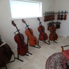 Old European Double basses, pic 2