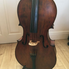 Excellent Renzo Passolini cello bought from Andrew Hooker., pic 1
