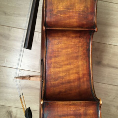 Excellent Renzo Passolini cello bought from Andrew Hooker., pic 3