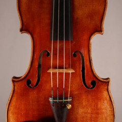 A very fine certified French violin by Jean-Francois Aldric (Paris, 1829), pic 1