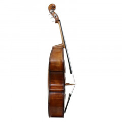 3/4 Pollmann German Double Bass Anniversary Special Bussetto Fully Carved 1988, pic 3