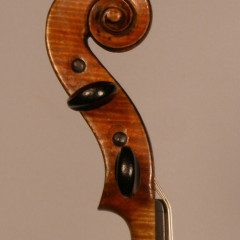 Fine French violin by Paul Bailly, student of J.B. Vuillaume ca. 1890, pic 3