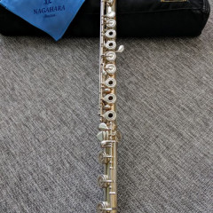 Nagahara, Full Concert Sterling Silver professional flute!, pic 3