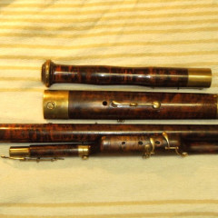 Rare French Romantic Bassoon: Muller a Lyon, pic 1