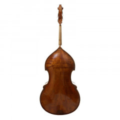 3/4 Pollmann German Double Bass Anniversary Special Bussetto Fully Carved 1988, pic 2