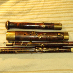 Rare French Romantic Bassoon: Muller a Lyon, pic 2