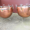 Henry Potter & Son (London) Original Hand-Tuned Timpani (c.1875) (25 & 27.5 inch bowls)