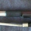 Fine Violin Bow atelier F. Lotte signed and made for R. Bailly. (Raffin cert.)