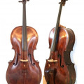 Jacobus Stainer 1663 (per label) German antique cello with beautiful sound