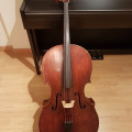 Roderich Paesold German Cello C1890 - 4/4 Full Size- with Bow and Hard case.