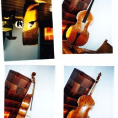 about 100 years old double bass stolen in Prague, pic 3