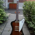 Gibson Firebird 1976, 25th anniversary, sunburst, serial 00 294078   in original case