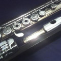 BRANNEN-COOPER 9K GOLDEN FLUTE, SILVER MECHANIQUE, B-FOOT, N.1610
