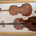 Violin Ambroise De Comble 1757 and A Vigneron a paris bow