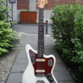 Fender Jaguar 1965 olympic white, serial 168266 in original case