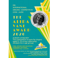 The 6th International Singing Competition, The Alida Vane Award