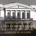 "First International Lied-Competition ""Bolko v. Hochberg"""