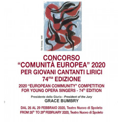 "2020 ""European Community"" Competition for Young Opera Singers"
