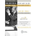 Conducting Masterclasses & Competition, Eduardo Browne, Jan. 2020