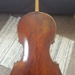 Baroque Cello - Italian, maker unknown, mid 19th c, pic 2