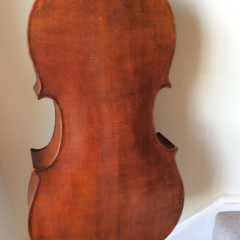 Austrian circa 1970s handcarved(one piece back), pic 2
