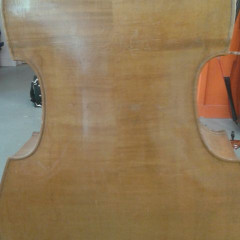 Old german double bass/Contrebasse allemande ancienne, pic 2