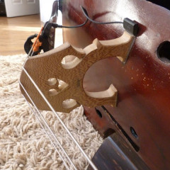 3/4 German Swell Back Double Bass c.1900, pic 3