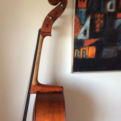 Austrian circa 1970s handcarved(one piece back), pic 3