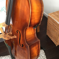 3/4 Double bass 1971, pic 1