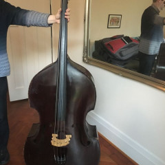 3/4 German double bass c.1930s, pic 1