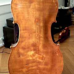 Fantastic cello possibly italian ca. 1820, pic 2
