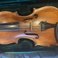 Late 18th Century English Violin - W.E. Hill & Son No. 8529
