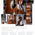 Amati Mangenot, 1930 Bordeaux - beautiful look and sound
